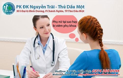 Phụ nữ tại sao hay bị viêm phụ khoa