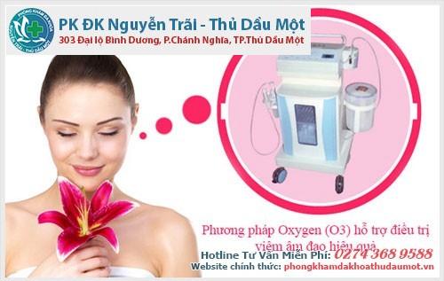 Điều trị khỏi viêm âm đạo bằng phương pháp O3