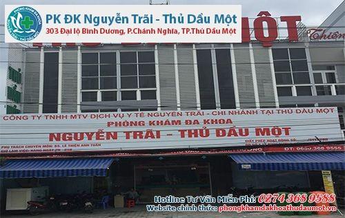 Đa Khoa Nguyễn Trãi - Thủ Dầu Một - Phòng khám phá thai an toàn Bình Dương