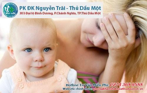 Bị rạn da sau khi sinh
