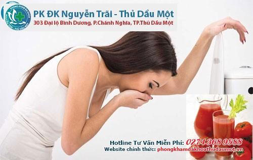 Đồ uống giúp mẹ bầu trị chứng ốm nghén