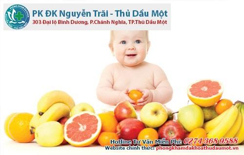 Phương pháp cho trẻ ăn hoa quả hiệu quả