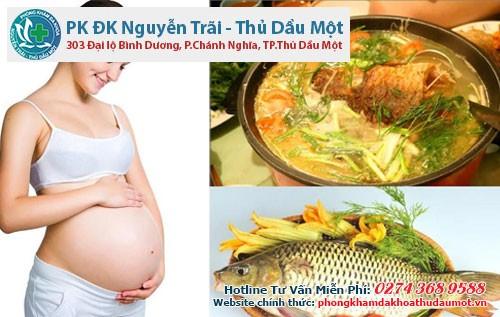 Ăn cá khi mang thai và những lưu ý