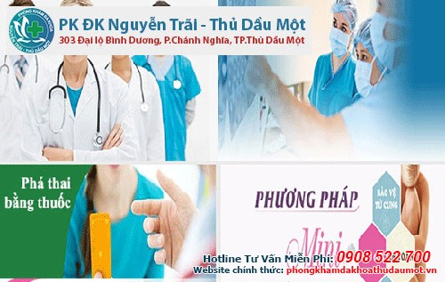 Phương pháp phá thai an toàn tại Phòng khám Đa Khoa Nguyễn Trãi - Thủ Dầu Một