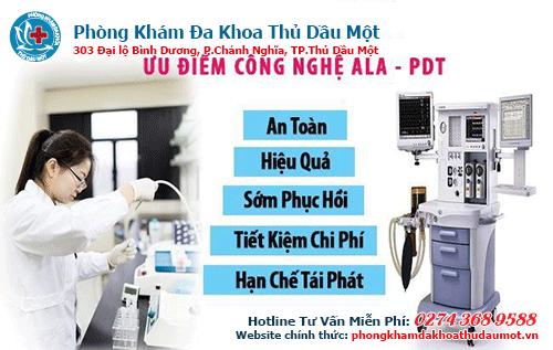 Công nghệ ALA - PDT chữa bệnh sùi mào gà an toàn và hiệu quả