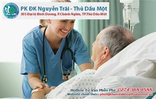 Bệnh nhân sẽ được phục vụ tận tình tạiphòng khám trị trĩ Thủ Dầu Một