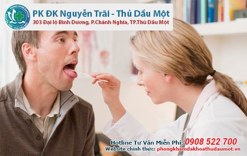 Điều trị sùi mào gà ở miệng tại Phòng khám Nguyễn Trãi - Thủ Dầu Một