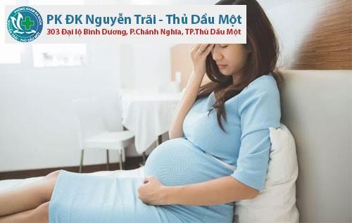 bi viem phu khoa khi mang thai