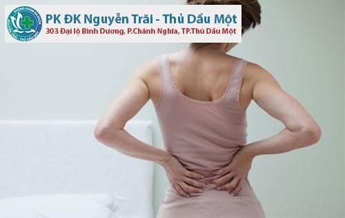 Khi bị viêm phụ khoa có gây đau lưng không?